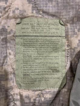 Military ACU Poncho Liner Woobie Blanket used