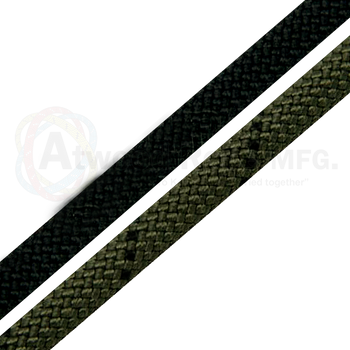 "7/16"" X 150' STATIC RAPPELLING ROPE BLACK"