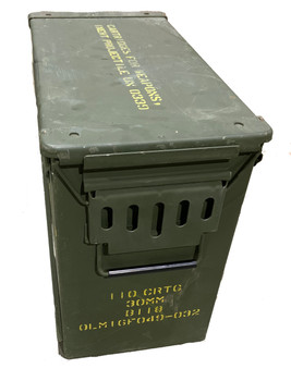 30mm Ammo Can Large Military Metal Can Made in USA