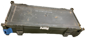 German Military Flat Metal Ammo Can