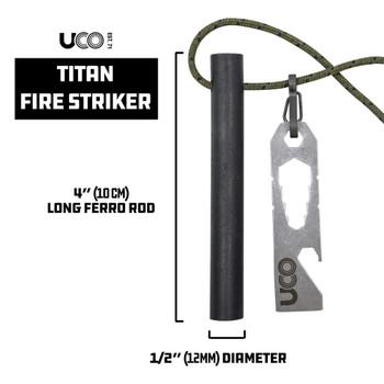 UCO Titan Fire Starter Ferro Rod