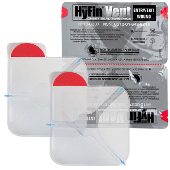 HYFIN VENT CHEST SEAL TWIN PACK Exp. 2025