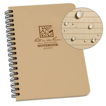 Rite In The Rain Medium All Weather Notebook Made in USA