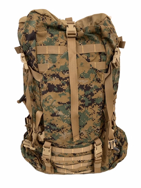 US Military USMC ILBE Pack MARPAT (Pack Only) with Internal Frame NEW