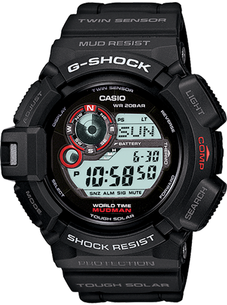 Casio G-Shock Mudman Tough Solar Watch G9300-1