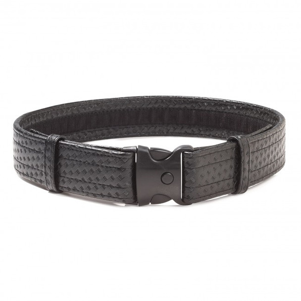 "2-1/4"" Deluxe Basket Weave Duty Belt with Velcro Inside"