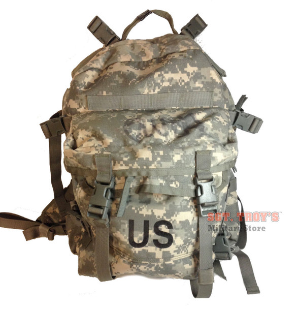 US Military Army ACU 3 Day ASSAULT PACK BACKPACK Molle w// STIFFENER and PAD EXC