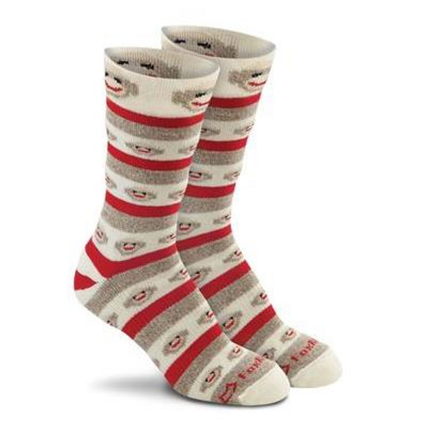 Fox River MERINO STRIPES Rockford Red Heel Monkey Socks
