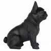 Frenchie - Sitting French Bulldog - Matte Black - 2
