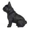 Frenchie - Sitting French Bulldog - Matte Black - 3