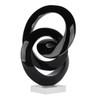 Galaxy Sculpture - Black