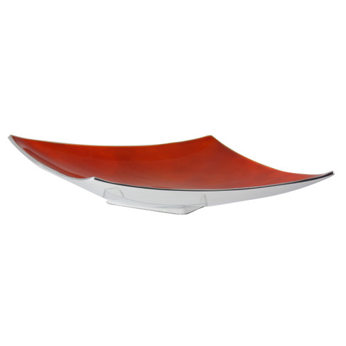 Orange Angular Platter