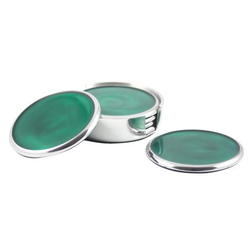 Emerald Coasters Set of 6