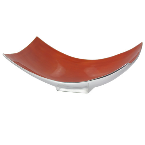 Orange Large Rectangular Dish