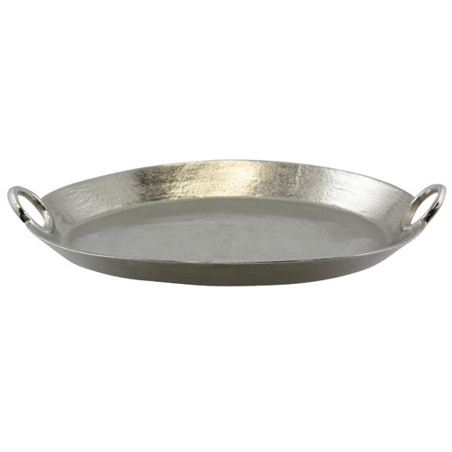 Rough Nickel Oval Tray