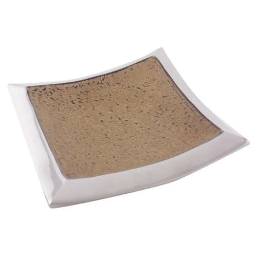 Light Granite Square Plate