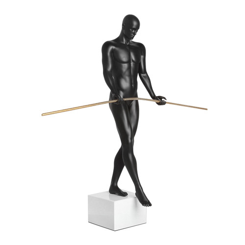 Balancing Man Matte Black