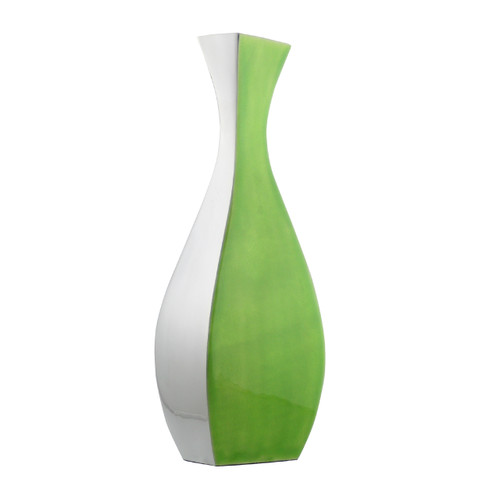 Lime vase 40cm