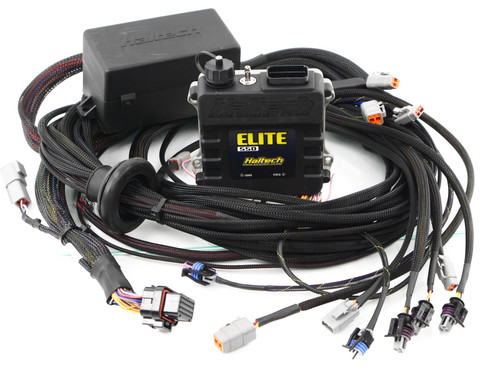 Elite 550 ECU + DSM 4G63 Harness Kit