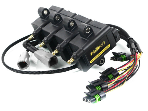 IGN1A Haltech Coil set with Breakout Harness