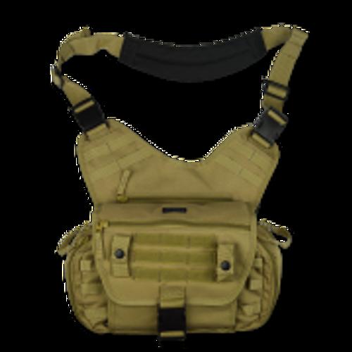 Tactical Shoulder Sling Pack - Dual Purpose EMS/Active Shooter