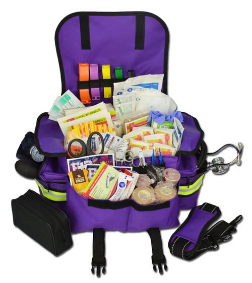 Small EMT First Responder Bag w/ Medical Supplies