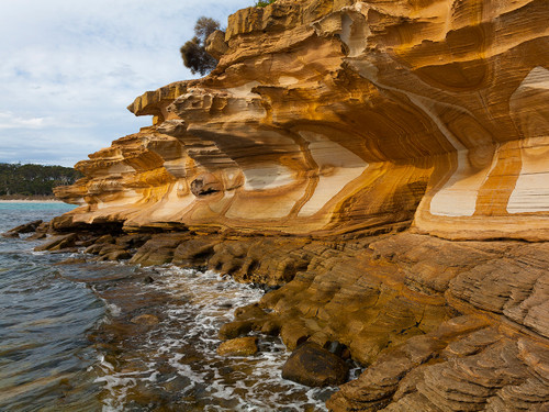 Painted Cliffs, Maria Island, Tasmania