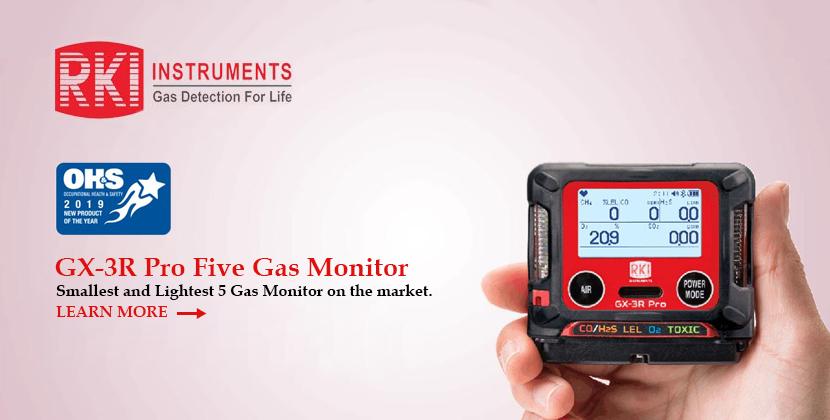 RKI Instruments GX-3R Pro Gas Monitor
