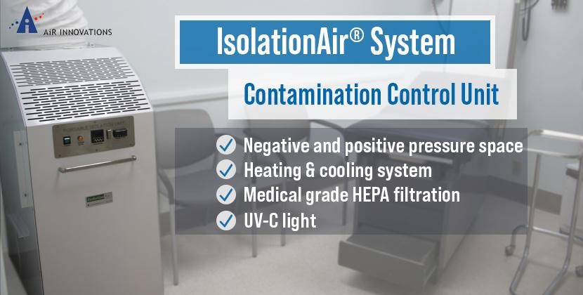 Air Innovations IsolationAir System Contamination Control Unit