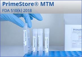 Primestore Molecular Transport Medium Informational