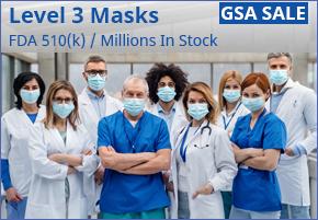 LHM Fluid Resistant Level 3 Procedure Masks