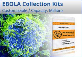 Ebola Collection Kits