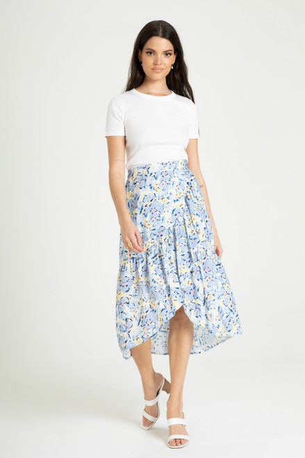 Winry Skirt-Anemone Floral