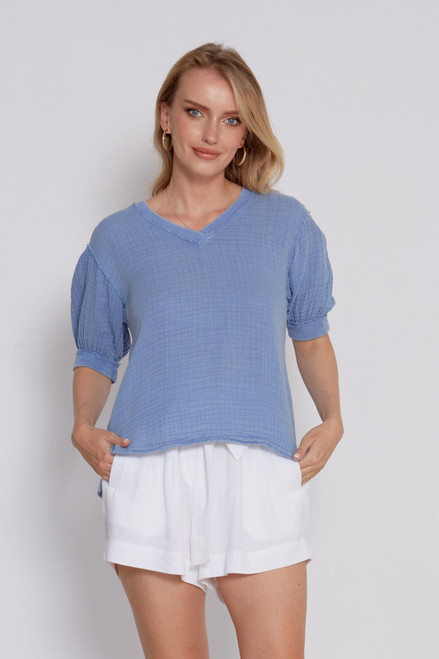 Joselyn Top - Classic Blue