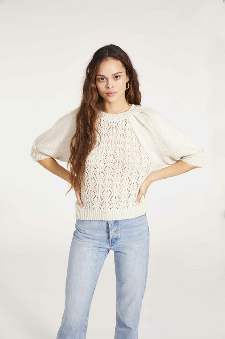Come Here Soften Sweater - Oatmeal