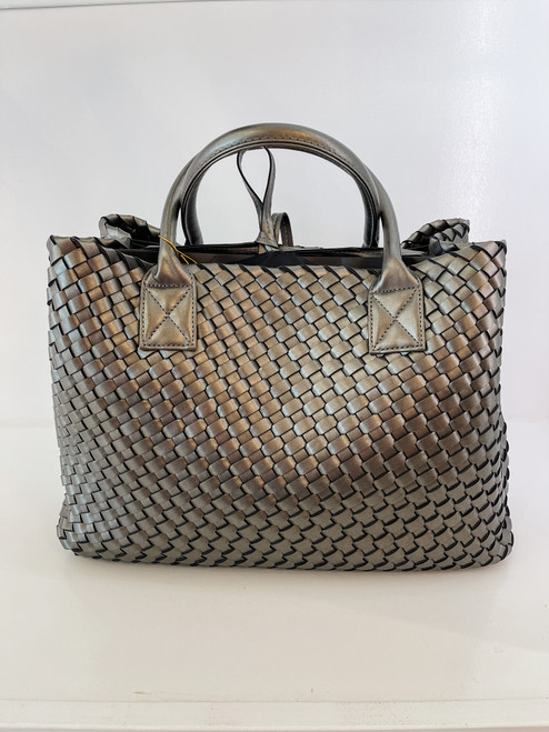 Large Tote - Silver Grey