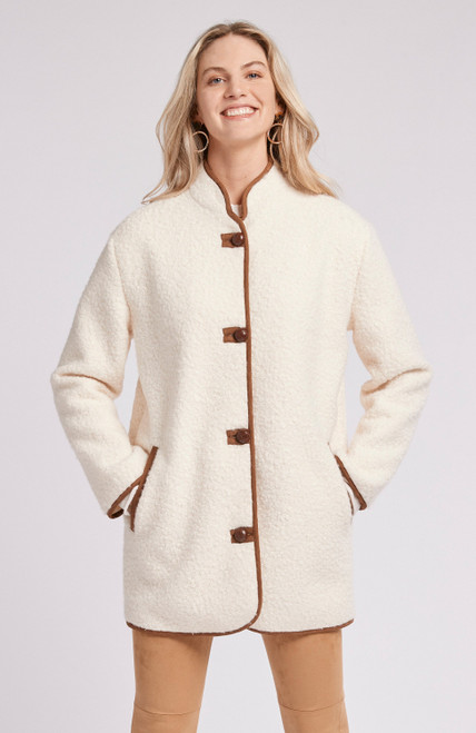 Sherpa Country Coat - CRM