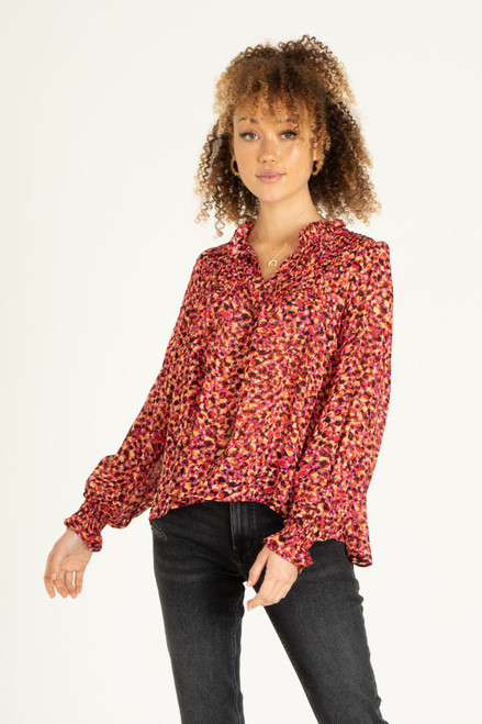 Kassidy Blouse - Ying Yang Floral