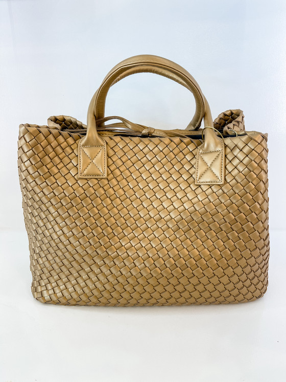 Large Tote - Gold