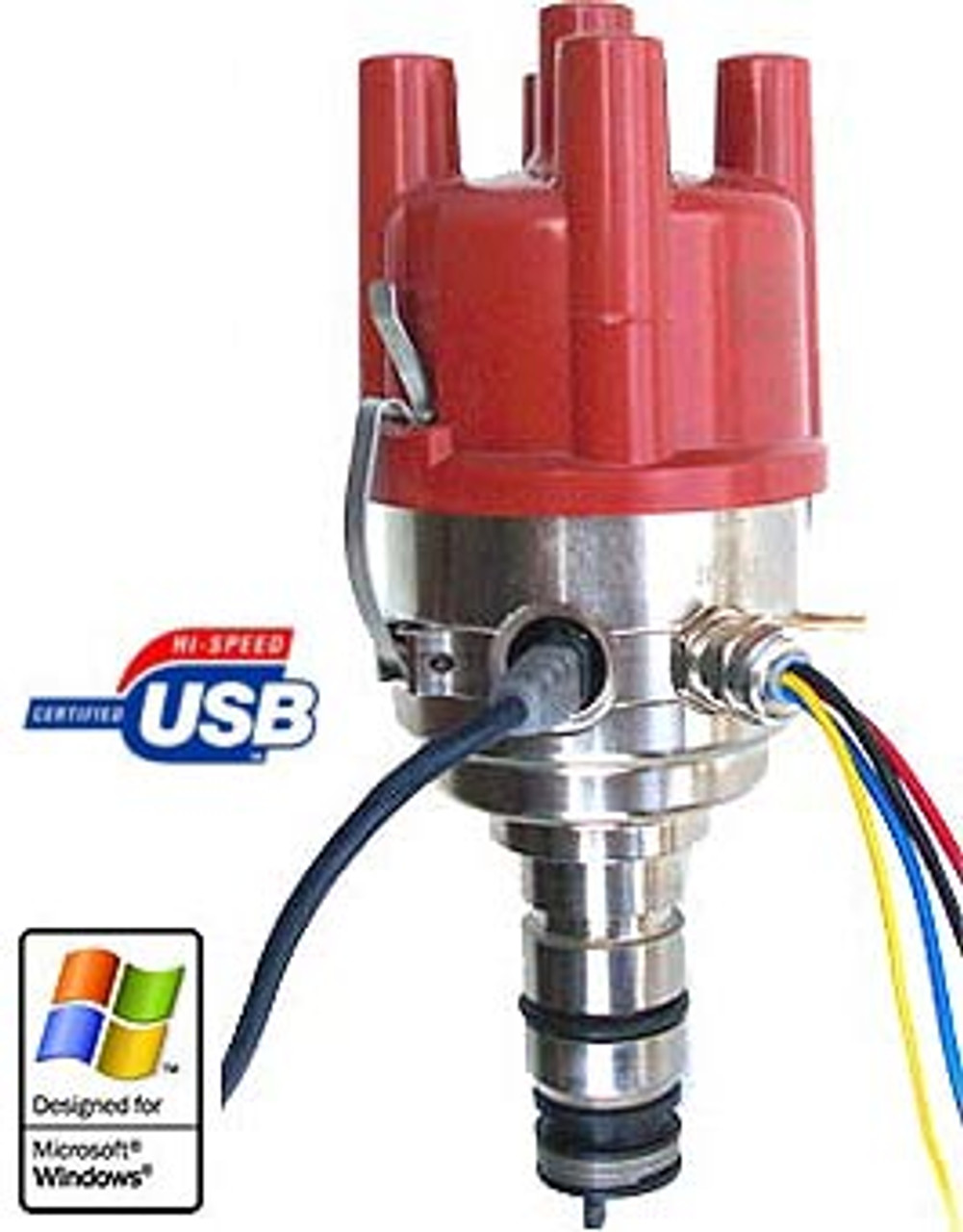 The USB programmable 123\TUNE-4-R-V-P is designed for Porsche 912 / 914 / 356  Comes w/spacer