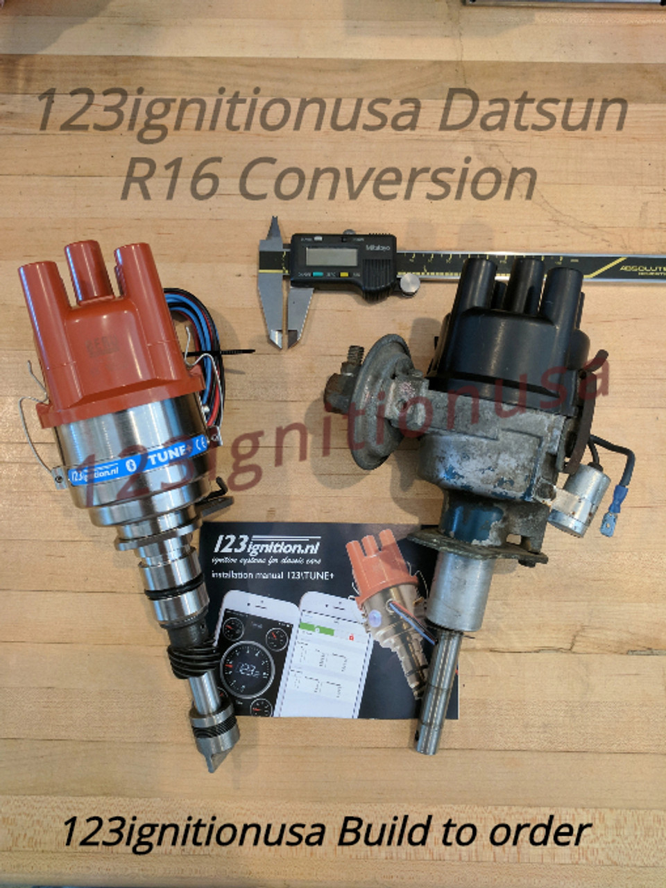 Datsun Roadster w/R16 L4  PC programmable distributor ((((( Special Order Only ))))) - No Refunds or cancellations  Fits Datsun R16 Roadster 311,411,1600,2000,411SSS,U20,H20