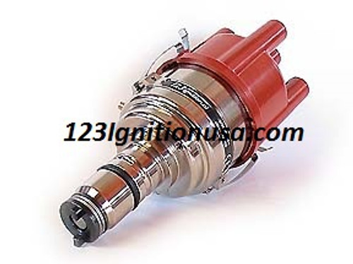 Fits MGA MGB MINI AUSTIN TRIUMPH Aston Martin etc. 123\GB-4-R-V Original Switched model with 16 curves  The 123\GB-4-R-V Replaces 25D, 45D Distributors for engines in Great-British (hence 'GB') cars. Note that there are dedicated 123-ignitions for Mini, Jaguar & MG.  Please check if the distributor needs a connection for a mechanical rev.counter, as a 123\GB-4-R-V does not offer this.