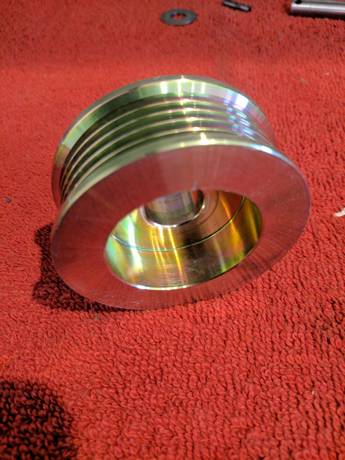 Serpentine Pulley 5 groove for CS130