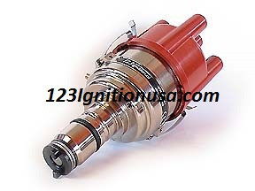 4 cylinder Switched model with 16 curves for the replacement of most 4 cyl   CCW 'Lucas'-distributors  Fits MGA MGB MINI AUSTIN TRIUMPH etc  GB4-R-V