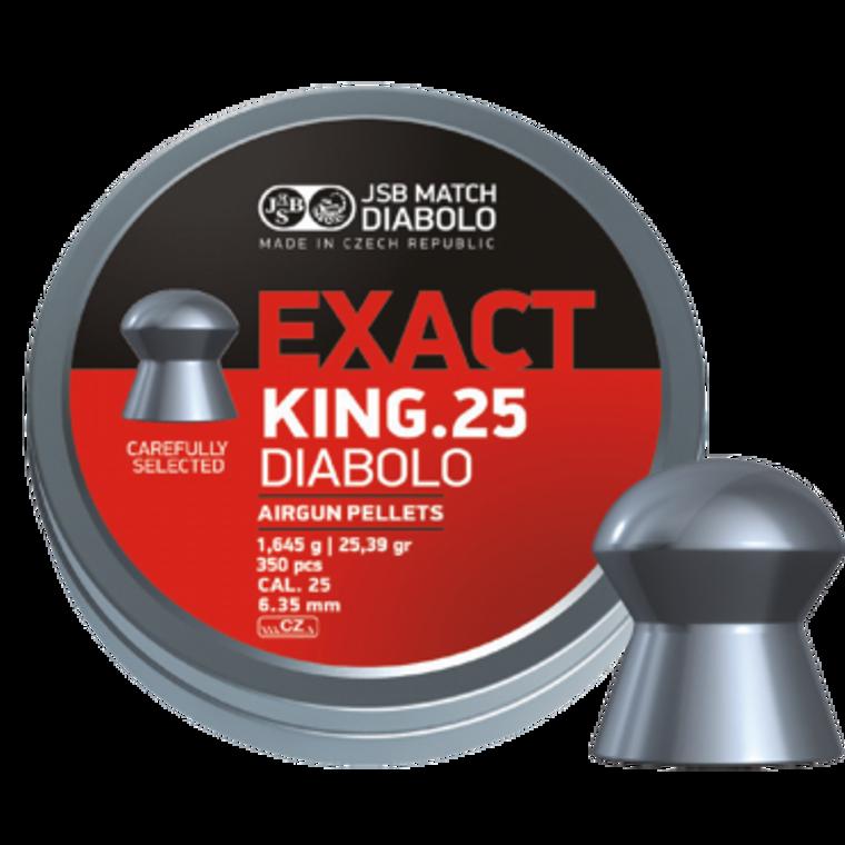 jsb 25cal pellets exact king 25.39gr