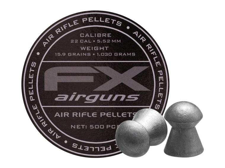 FX Pellets 15.89gr 500ct