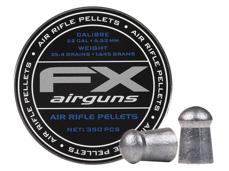 FX Pellets 22Cal 25.39gr 350ct