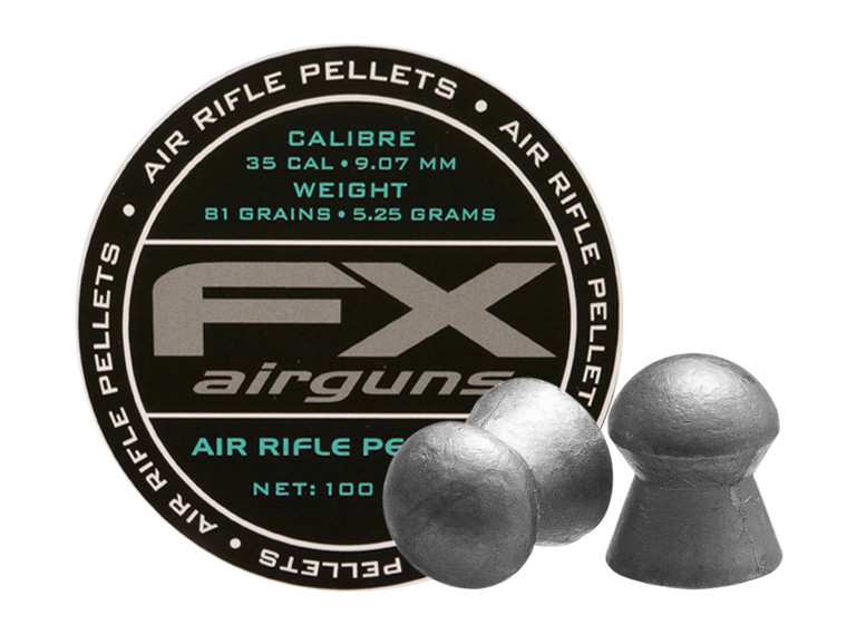 FX Pellets 35cal 81gr 100ct