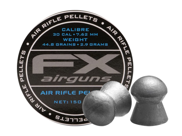 FX 30Cal 44.8GR Pellets 150CT