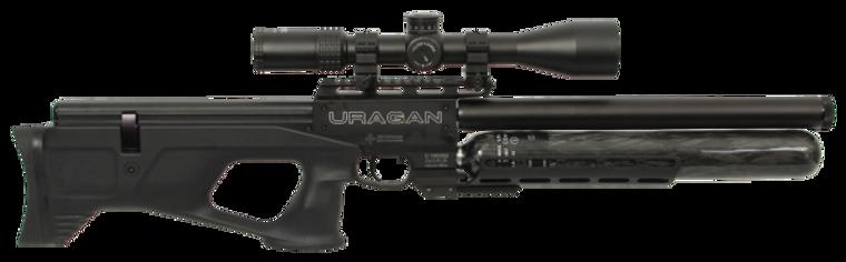 Uragan 30Cal side view, for sale at High Pressure Pneumatics
